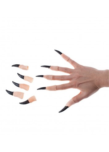 Black Witch Nail 10 Pieces