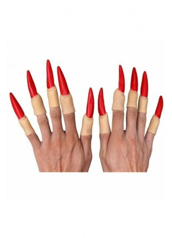 Red Witch Nail 10 Pieces