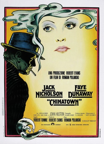 Chinatown Vintage Poster 50X70