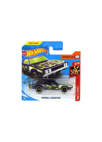 Hot Wheels 69 Dodge Charger 500 Araba