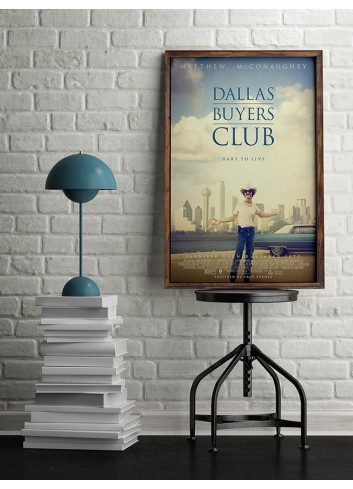 Dallas Buyers Club Poster 50X70