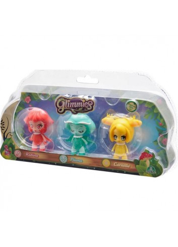 Glimmies Rubina Pluma Cornelie Triple Figure Toy