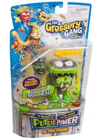 The Grossery Gang Action Figurine - Çöp Kafası