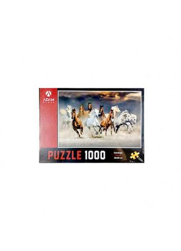 Atlar Doludizgin Puzzle 1000 Parça