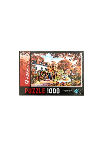 Autmn in the Villiage Puzzle 1000