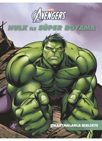 Marvel Hulk ile Süper Boyama