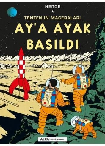 Tenten'in Maceraları Ay'a Ayak Basıldı (Çizgiroman)