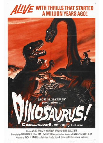 Dinosaurus Poster 50X70