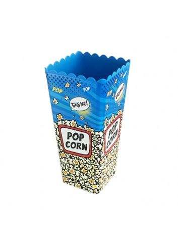 Popcorn Box Blue