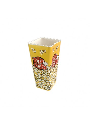 Popcorn Box Yellow Square