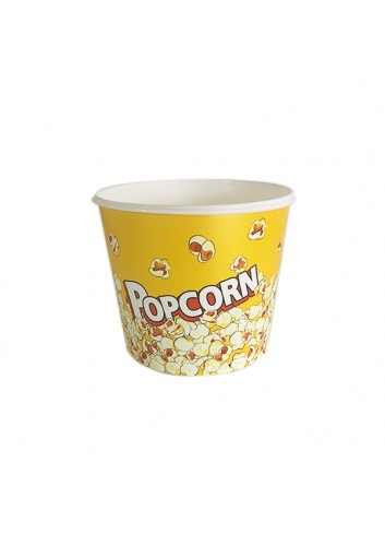 Popcorn Bucket Yellow