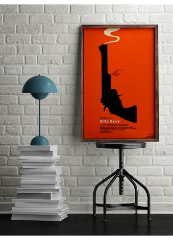 Dirty Harry Poster 50X70