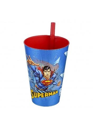 Süperman Pipetli Bardak