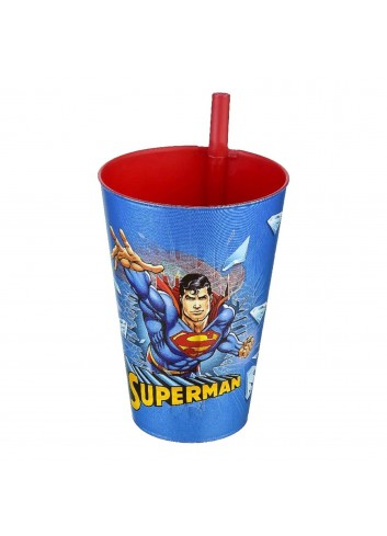 Superman Straw Cup