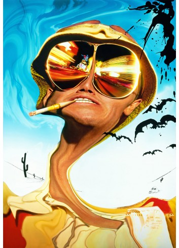 Fear And Loathing İn The Las Vegas Poster 50X70