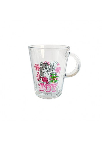 Pink Licensed Tom And Jerry Handled Cup