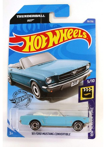 Hot Wheels Thunderball 007 James Bond 65 Ford Mustang