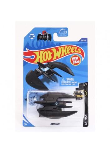 Hot Wheels Batman Batplane Black
