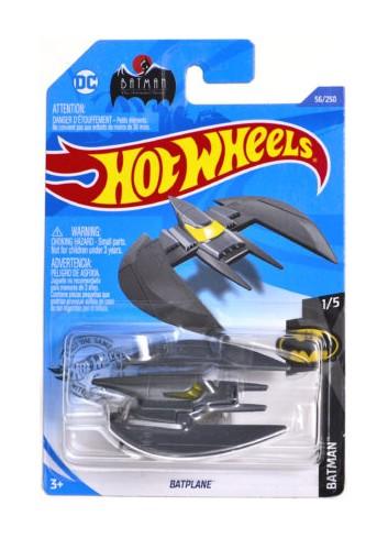 Hot Wheels Batman Batplane Grey