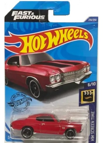 Hot Wheels Fast and Furious 70 Chevelle SS