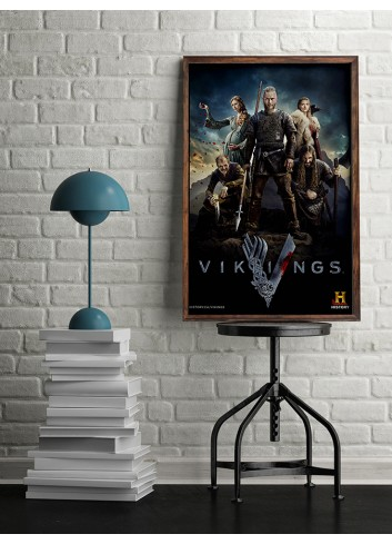 Vikings Series 01 Poster 50X70