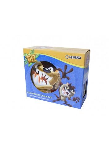 Tazmanya Canavarı Çocuk Kahvaltı Seti Cartoonbox