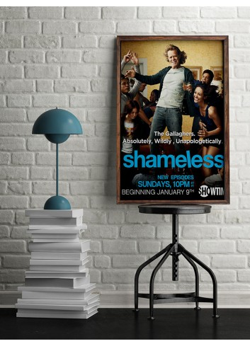 Shamless Series 01 Poster 50X70