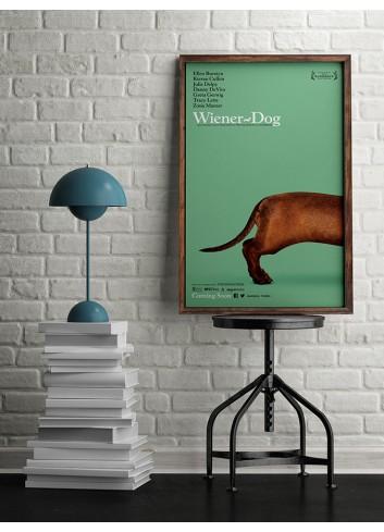 Wiener Dog Poster 50X70