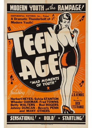 Teen Age Poster 50X70