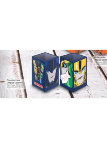 Transformers Wood Pencil Case