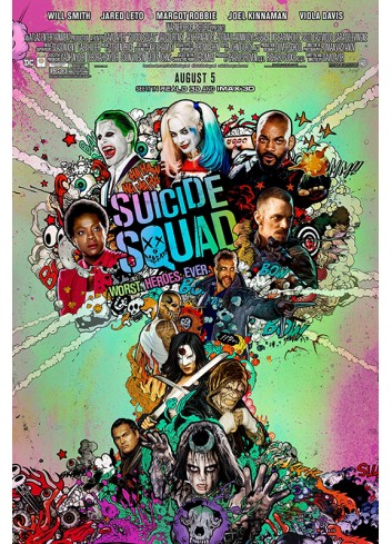 Suicide Squad Poster 50X70