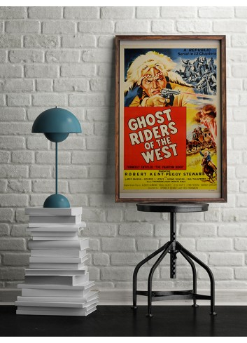 Ghost Riders Of The West Poster 50X70