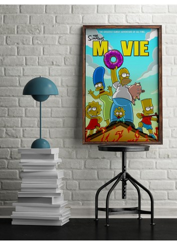 The Simpsons Poster 50X70