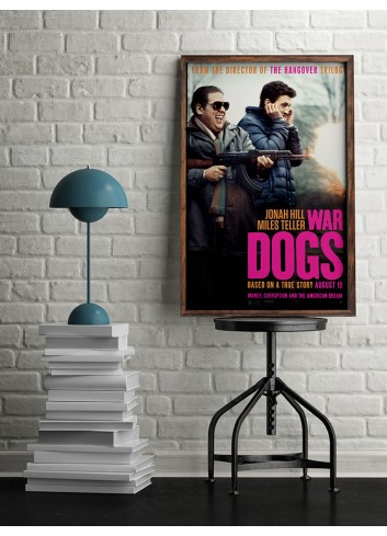 War Dogs 01 Poster 50X70