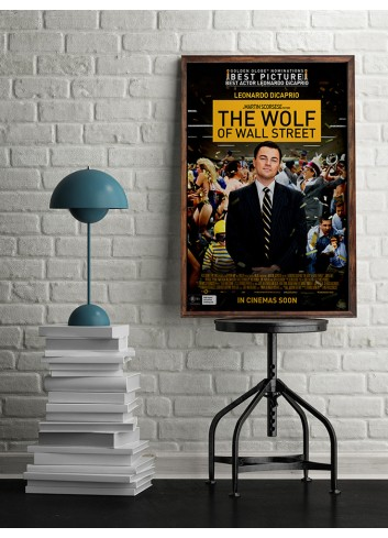 The Wolf Of Wall Street Poster 50X70