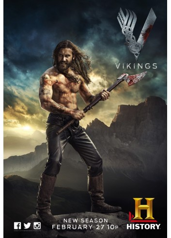 Vikings Series 02 Poster 50X70