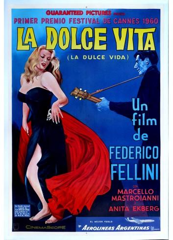 La Dolce Vita Poster 50X70