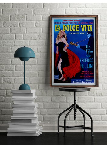 Tatlı Hayat Poster 50X70