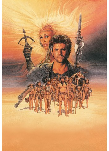 Mad Max Beyond Thunderdome Poster 50X70