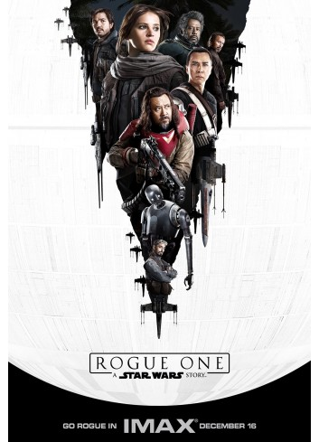 Star Wars Rouge One 01 Poster 50X70