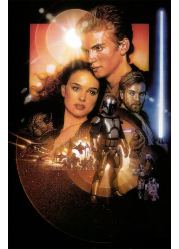 Star Wars Episode 2 - Attack Of The Clones Poster 50X70