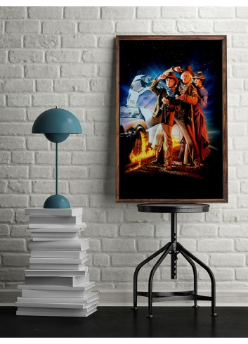 Back to the Future 03 Poster 50X70