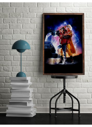 Back to the Future 02 Poster 50X70