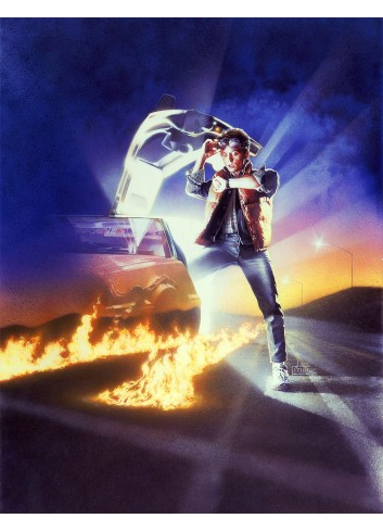 Back to the Future 01 Poster 50X70