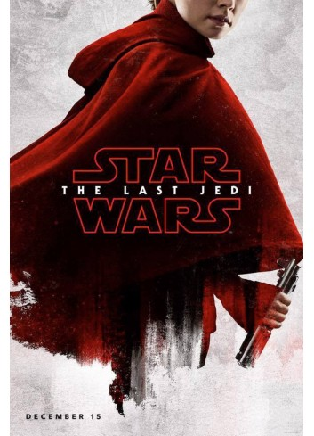 Star Wars: The Last Jedi Poster 50X70