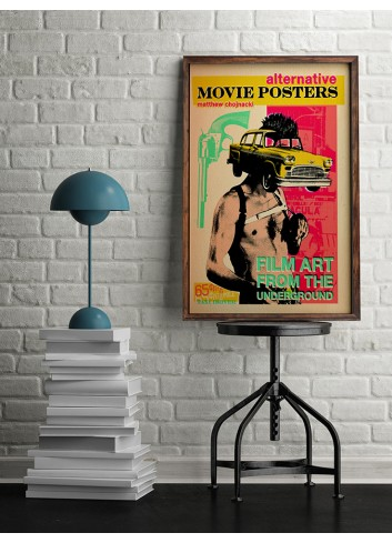 Taxi Driver Alternative Poster 50X70