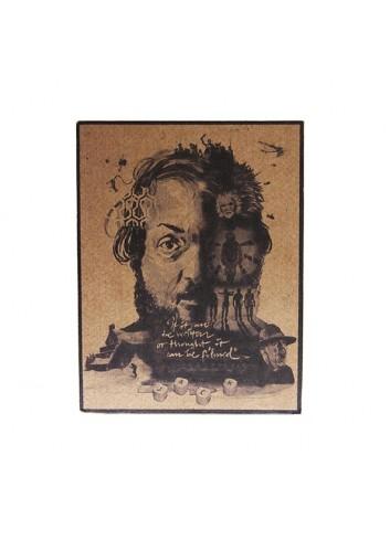 Stanley Kubrick Vintage Magnet