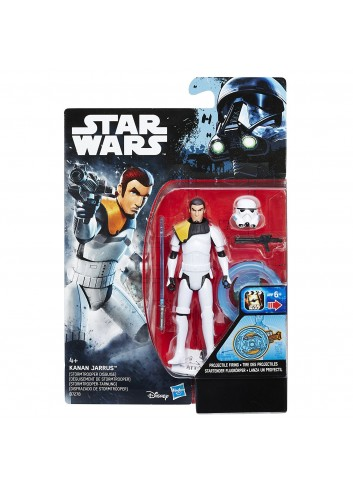 Star Wars  - Swu Kanan Jarrus - Rogue One Battle - Hasbro Figür