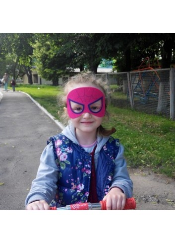 Spiderman Girl Mask