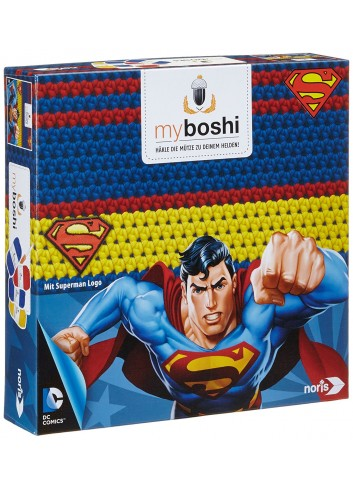 Superman Handknitting Beret